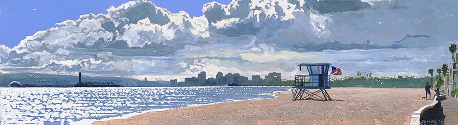Long Beach Harbor 26x96 $2,000